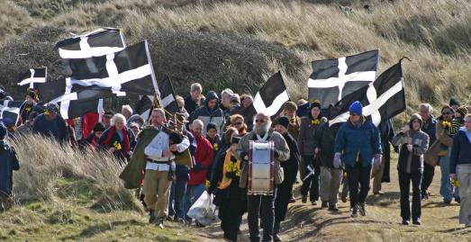 St Piran's Play, Perranporth, Cornwall