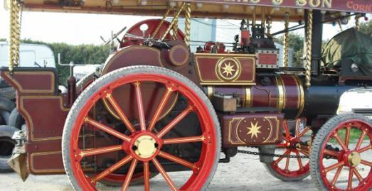 St Merryn Steam Fair near Padstow Cornwall