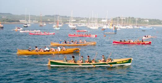 World Pilot Gig Championships, Isles of Scilly, Cornwall
