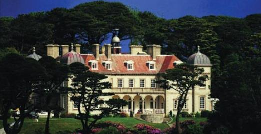 Fowey Hall, family friendly hotel in Cornwall
