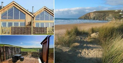 Merlin Farm Holiday Cottages, Mawgan Porth, Cornwall