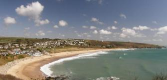 Praa Sands, beach cafes, Cornwall, beachside hang-outs