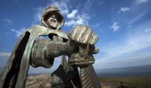 King Arthur at Tintagel