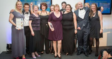 Red Hotels, Winner of Winners at the 2012 Cornwall Tourism Awards