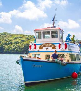 Enterprise Boats | Trips & Tours in Cornwall | Fal River | Cornwall