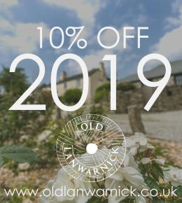 10% off 2019 Holidays PLUS a bottle of Champagne.