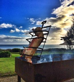 Argentinian Asado Cookery Course at Philleigh Way Cookery School