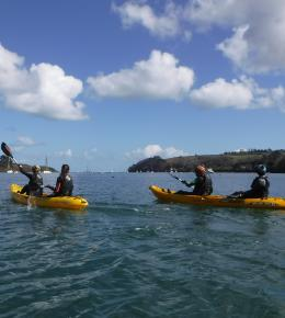 Kayaking adventures on the Helford River with Budock Vean Hotel