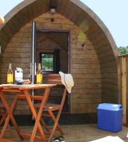 Luxury Glamping Log Pods - Just for two!