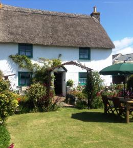 Little Trenoweth, Most Southerly Thatched  Cottage Grade II Listed England