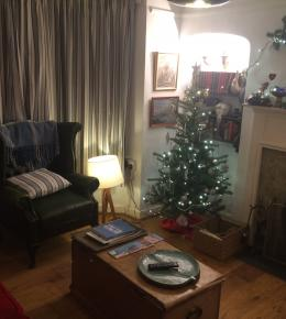 Christmas at Seabreeze Holiday cottage Newlyn