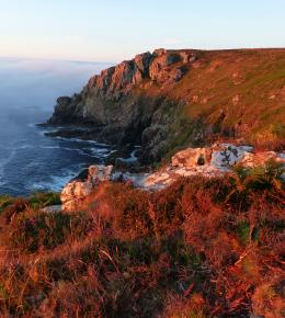 Walk from your cottage to the South West Coast Path at Porthmeor
