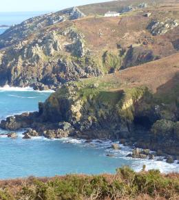 The south west coastpath is on our doorstep