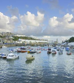 Porthleven is a wonderful location for families
