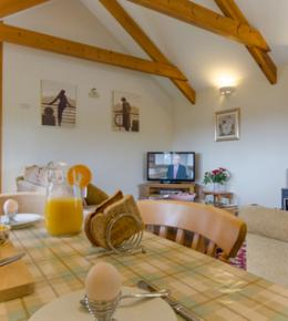 4 and 5 star gold holiday cottages in cornwall with indoor pool near Eden, Heligan and coast
