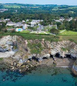 Carlyon Bay Hotel Spectacularly located on the coast over looking St Austell Bay