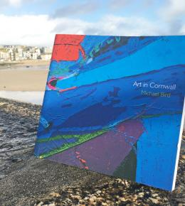 Art in Cornwall book in St Ives Harbour