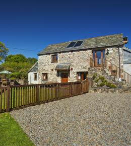 Gospenheale Barn in beautiful Cornish countryside