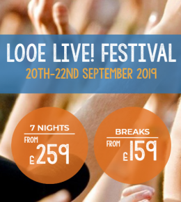 Accommodation for Looe Live! Festival