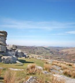 A stunning picture of Dartmoor