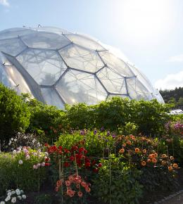Eden Project near the Carlyon Bay Hotel