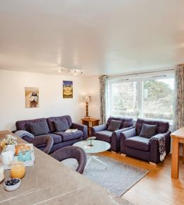 Penhwedhi a self-catering holiday apartment in Polzeath, North Cornwall
