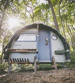 Wildflower Wood Glamping Pod Gwithian