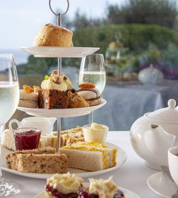afternoon tea at the driftwood