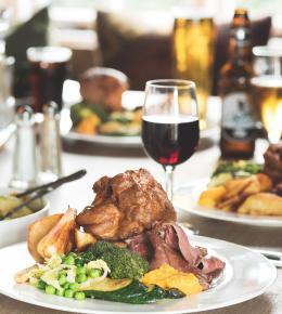Sunday roasts at The Cornish Arms