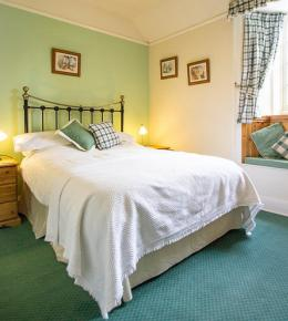 Double garden view Room at Polraen Country House Looe