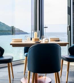 Story by the Sea table