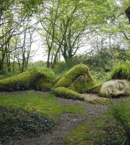 Mud Maid at Lost Gardens of Heligan
