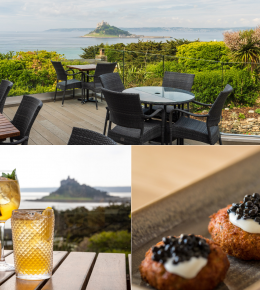 Lunch Offer at the Terrace Bar, Mount Haven