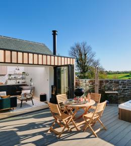 The Nook near Rock, North Cornwall - Luxury Self Catering with Perfect Stays