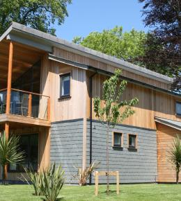 self-catering lodge at The Cornwall