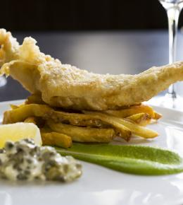 Fish and Chip Friday at The Alverton in Truro