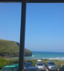 Mawgan view Seaview house Sandy court North Cornwall surf dog friendly beach view Poldark Newquay Padstow