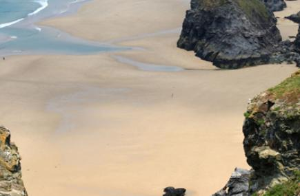 Bedruthan Steps, Cornwall, copyright Jason Flint