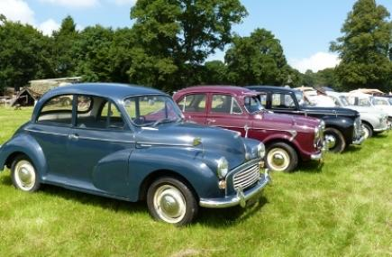 Morris Minors, Boconnoc Steam Fair