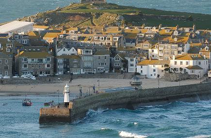 St Ives Island and Harbour image, Cornwall, c Bob Berry