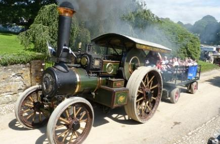 Steam Engines, Boconnoc Steam Fair, Lostwithiel, Cornwall