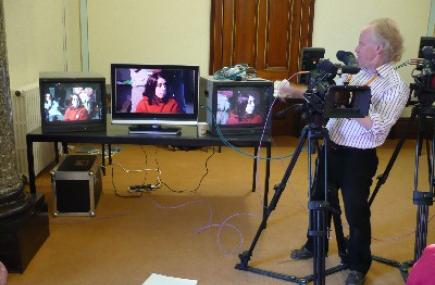TV Camerawork Workshop, Cornwall Film Festival