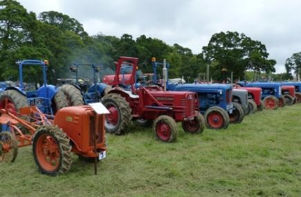 Tractors, Boconnoc Steam Fair