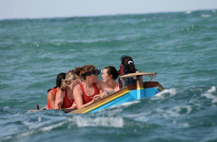 Newquay County Pilot Gig Rowing Championships Ladies, Cornwall