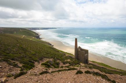 Beaches in St Agnes Cornwall | Chapel Porth Beach c Adam Gibbard