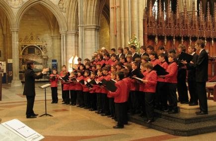 Warsaw Boys Choir at Truro Cathedral