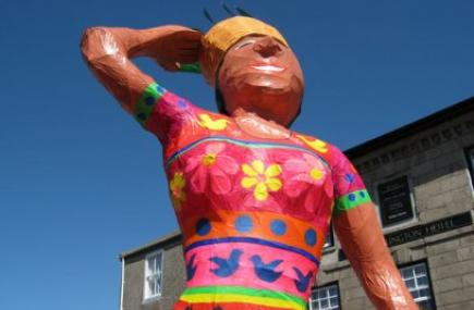 Lafrowda Festival, St Just, West Cornwall