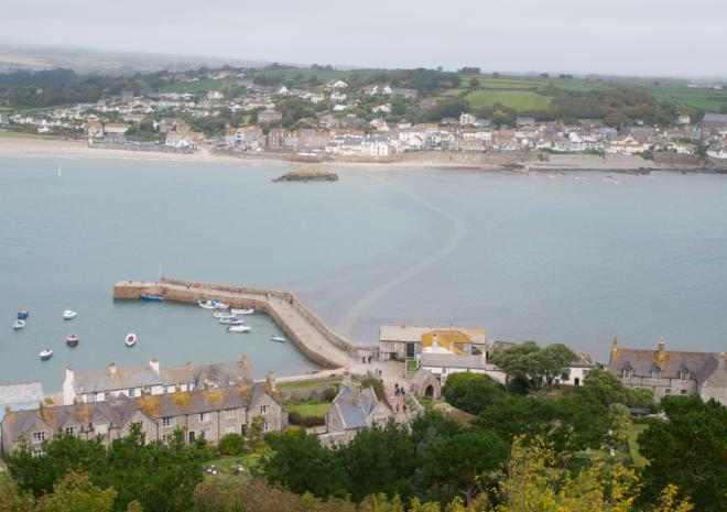 Marazion from St Michael's Mount, Cornwall c Matt Jessop