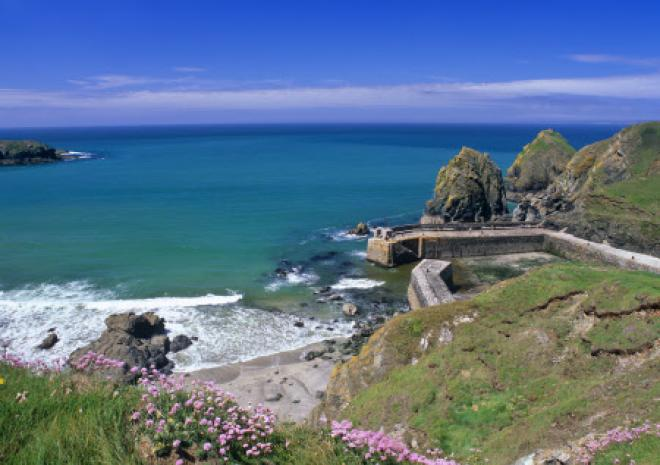 Mullion Cove, The Lizard, National Trust, Cornwall