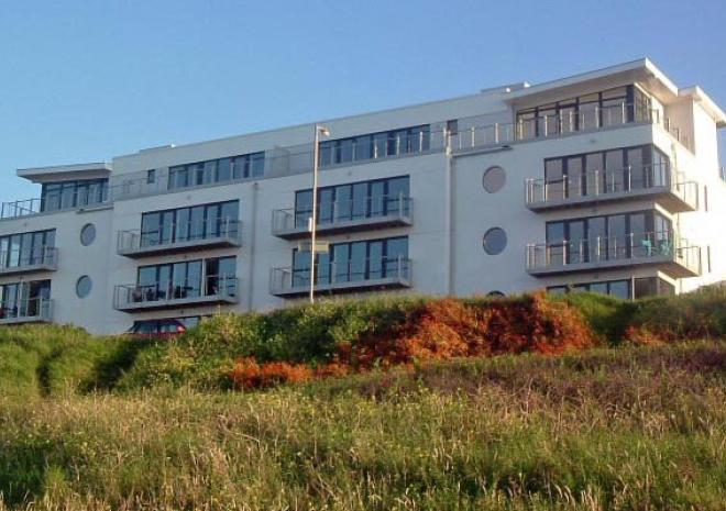 270 North overlooking and alongside Fistral Beach